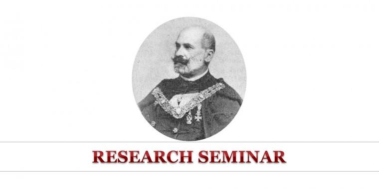 2019/20. academic year, fall semester research seminar
